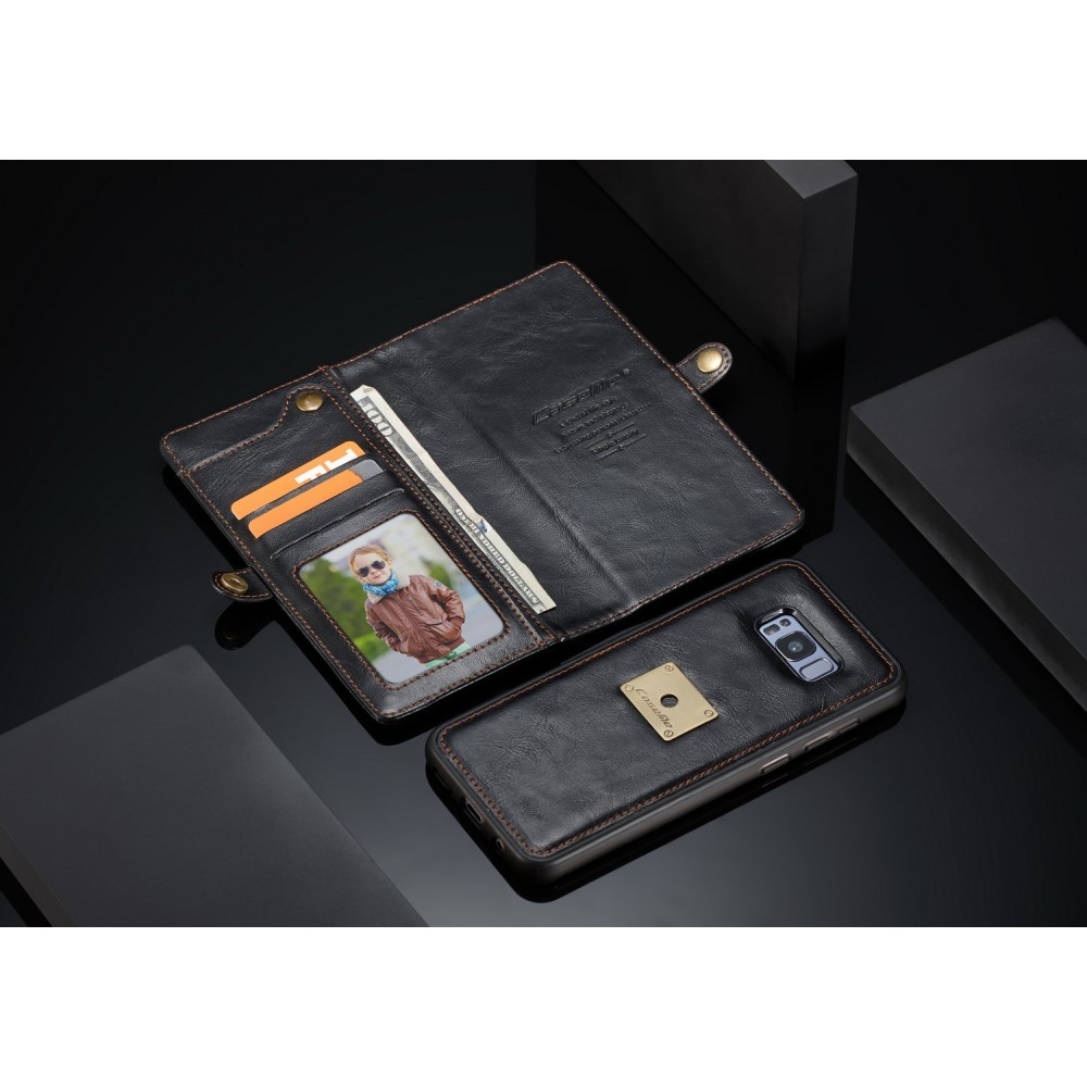 Capa Galaxy S8 - Caseme - Carteira Couro Multifuncional 2 em 1