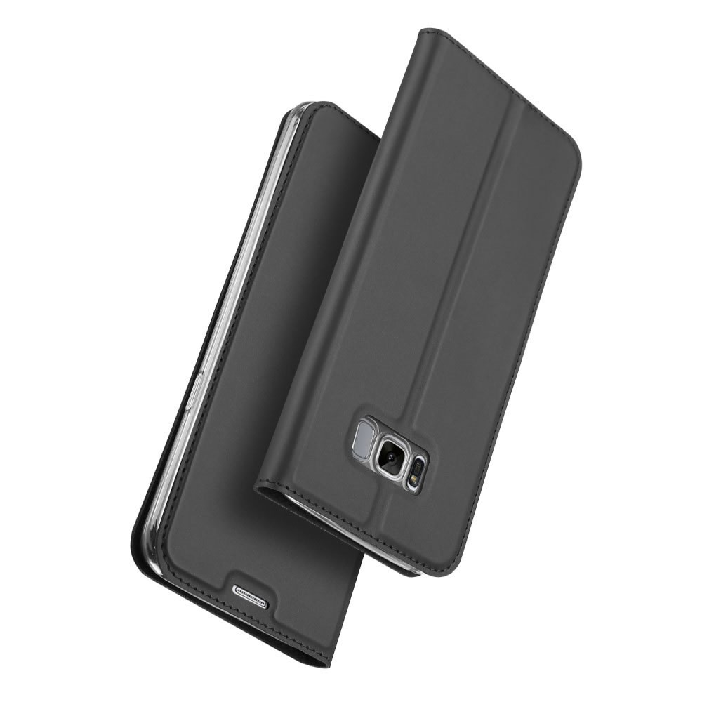 Capa Galaxy S8 - Dux Ducis - Carteira Couro Magnética