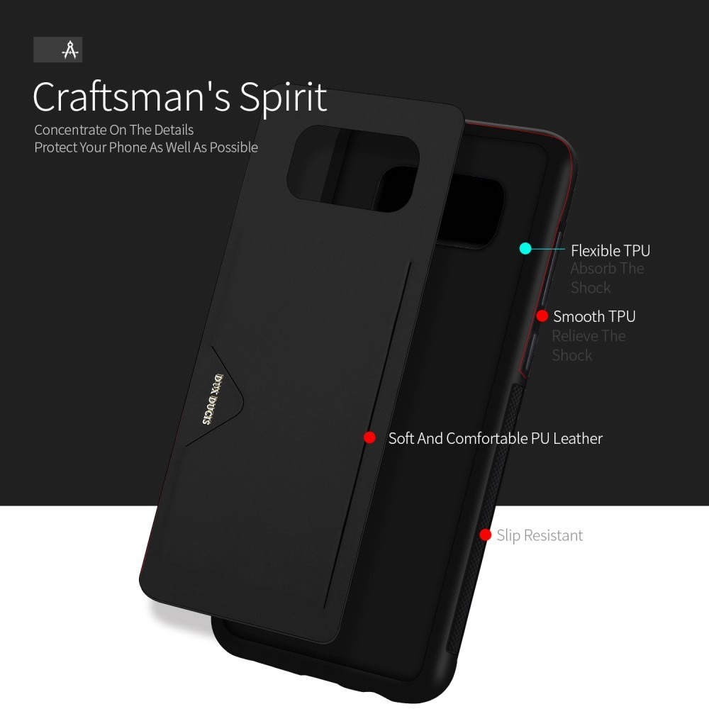 Capa Galaxy S8 - Dux Ducis - Porta Cartão