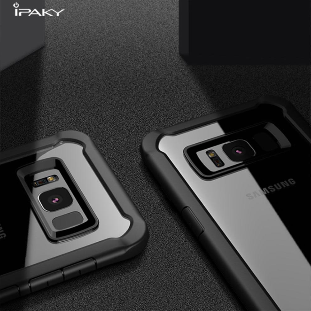 Capa Galaxy S8 - Ipaky - Transparente Anti Impacto