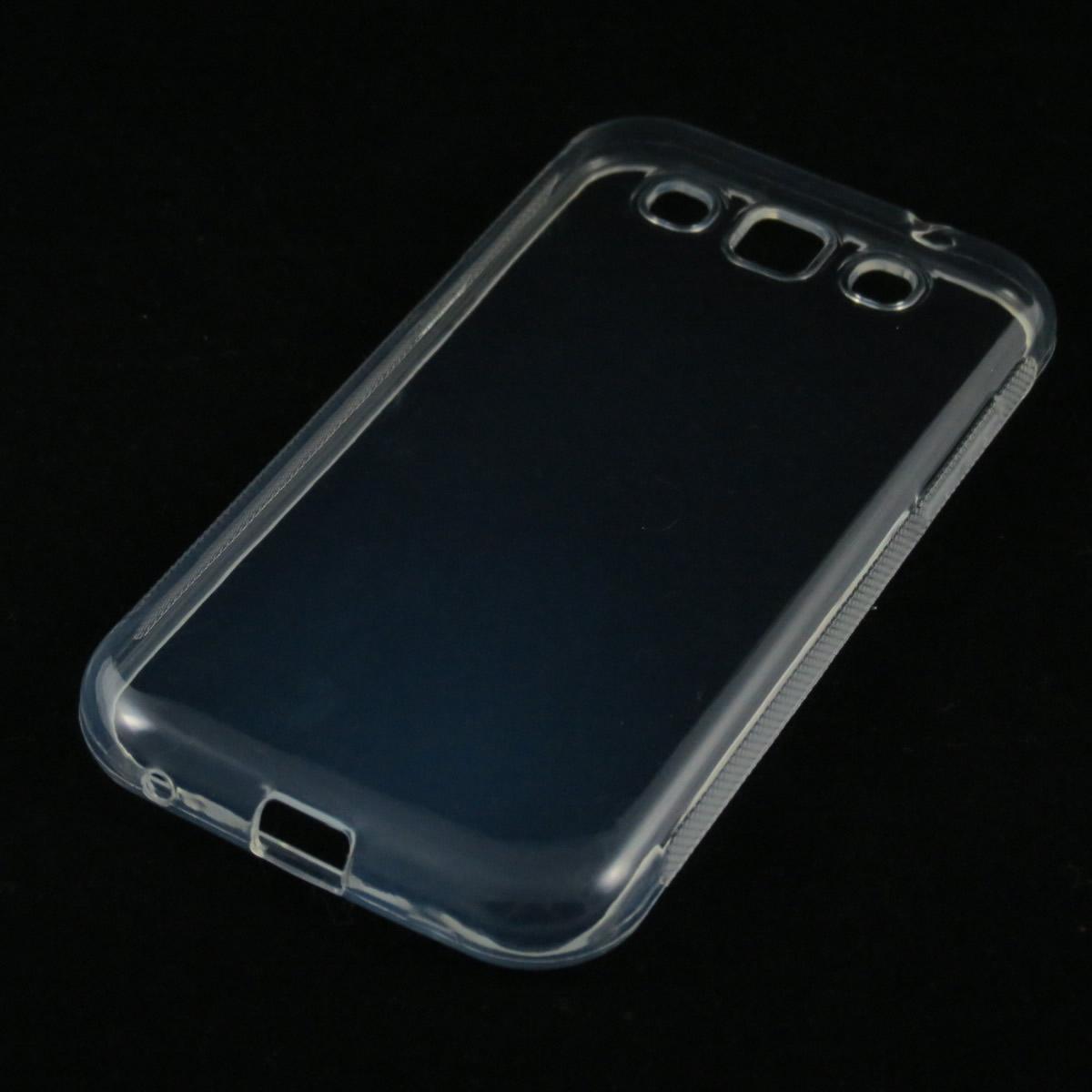 Capa Galaxy Win (I8552) - Transparente Silicone TPU