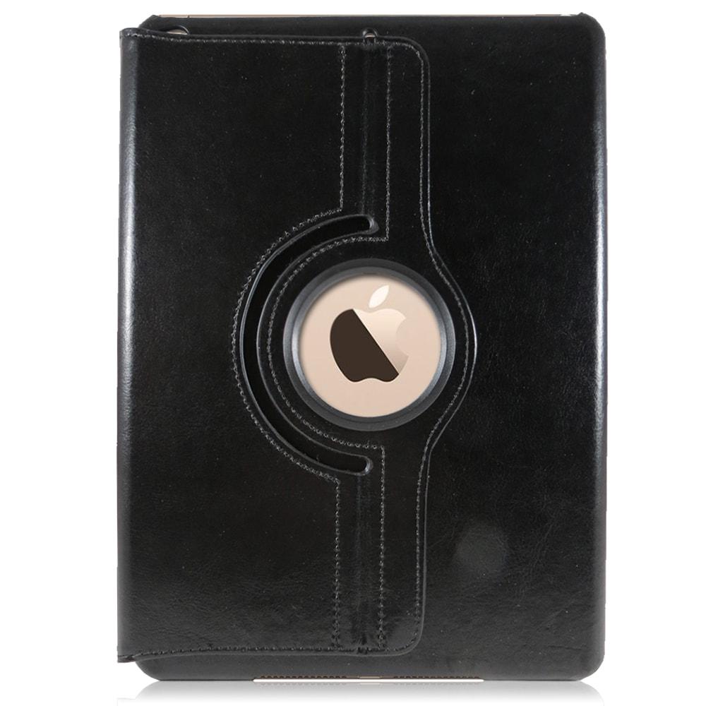 Capa iPad Air 2 Agenda Giratória 360° Graus em Couro - Preta