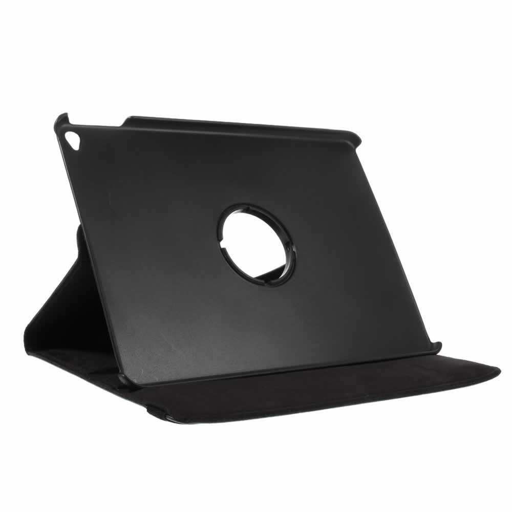 Capa iPad Air 2 Executiva de Couro Giratória 360° Graus - Preta