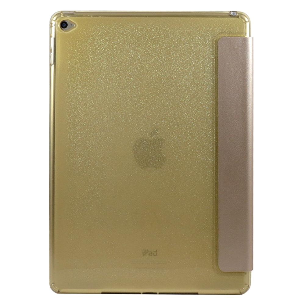Capa iPad Air 2 - Smart Case Brilhante Silicone - Dourada