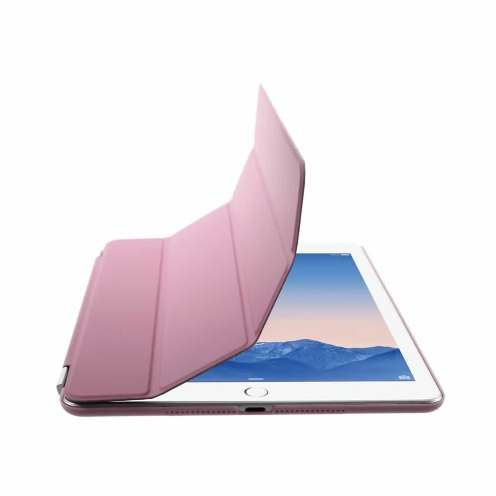 Capa iPad Air 2 Smart Cover + Capa Traseira - Rosa