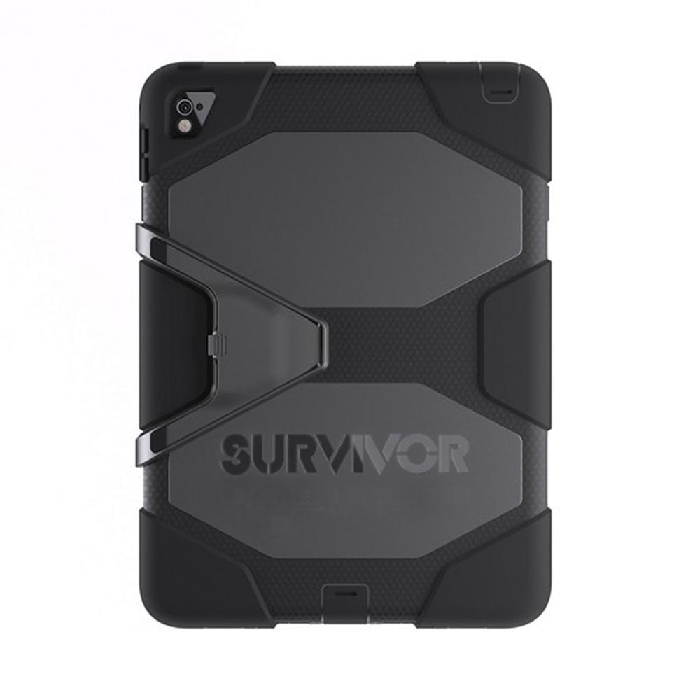 Capa iPad Pro 9.7 - Griffin Survivor All Terrain - Preta - Original