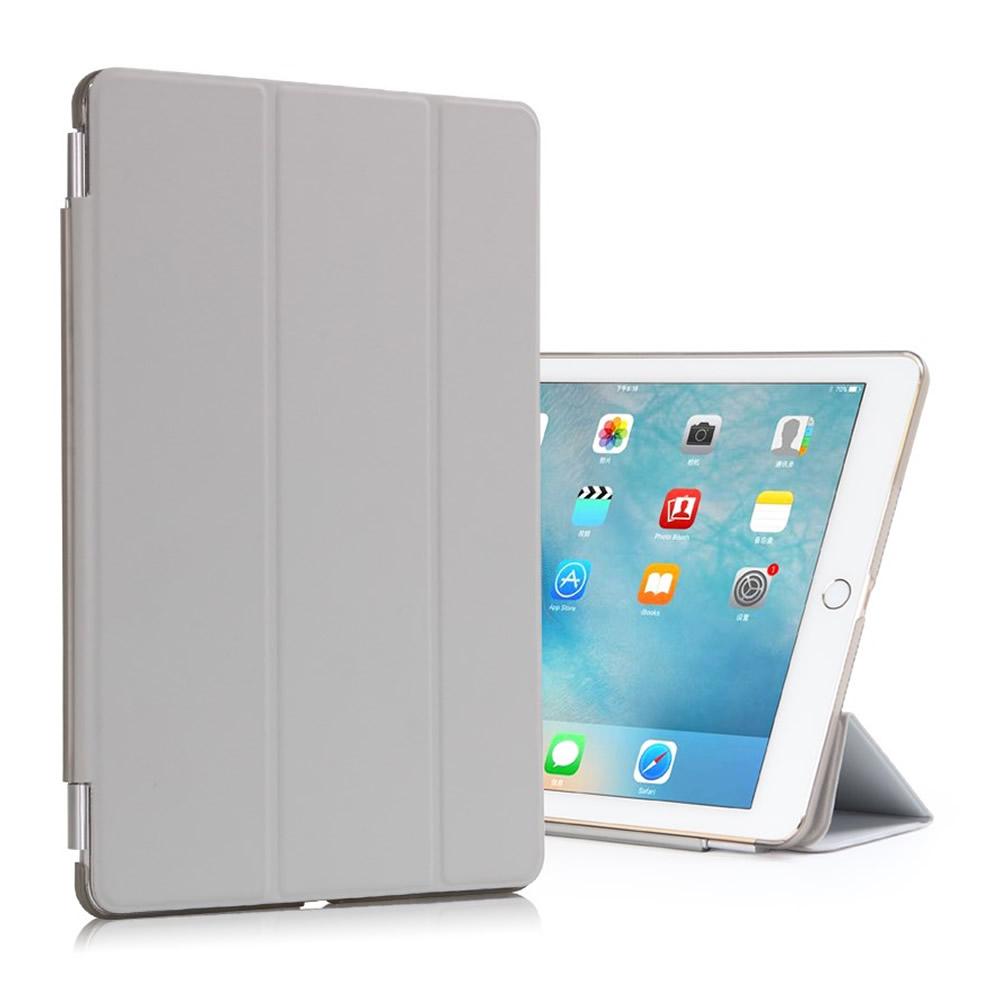 Capa iPad Pro 9.7 - Smart Cover + Capa Traseira - Cinza