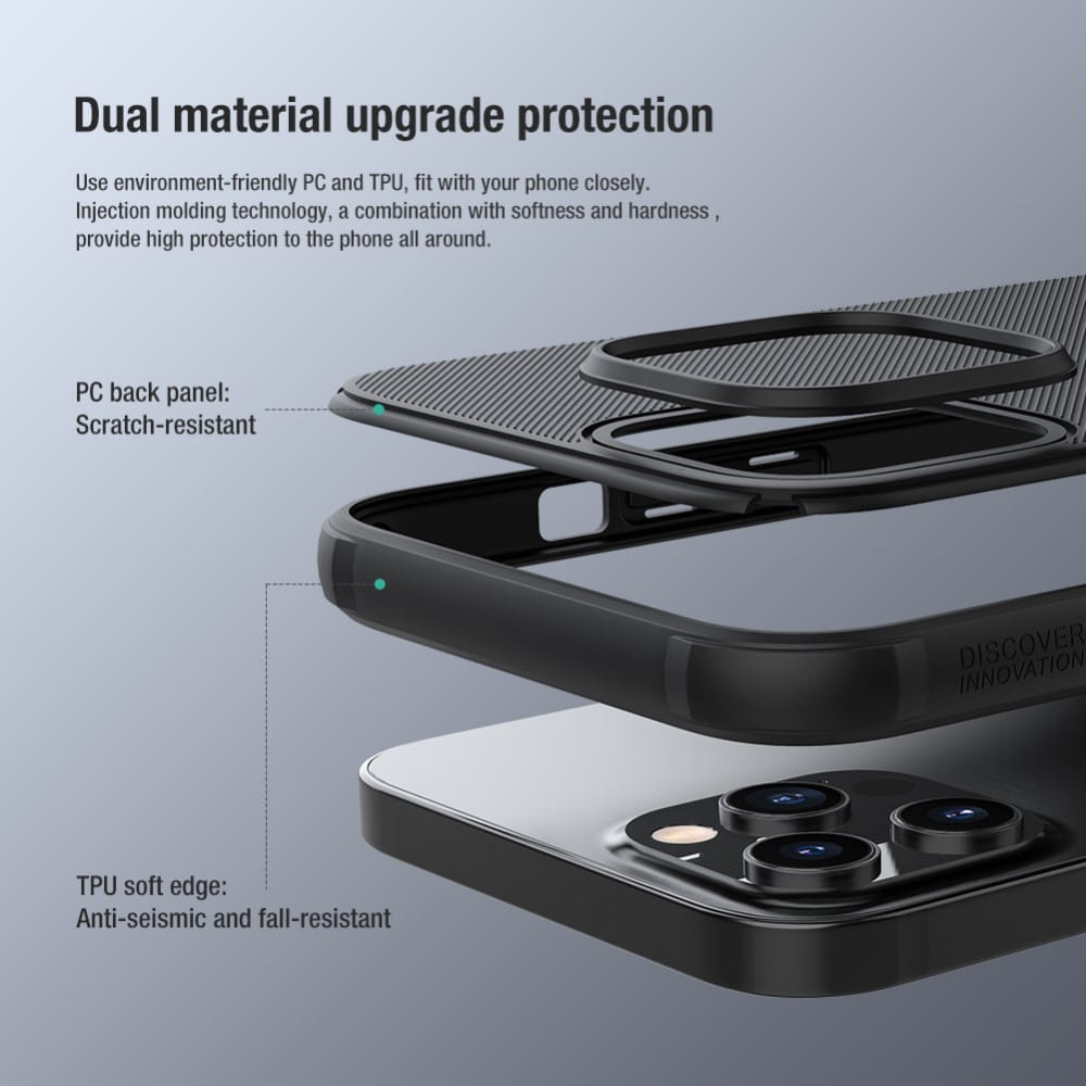 Capa iPhone 12 Pro Max - Super Frosted Shield - Nillkin