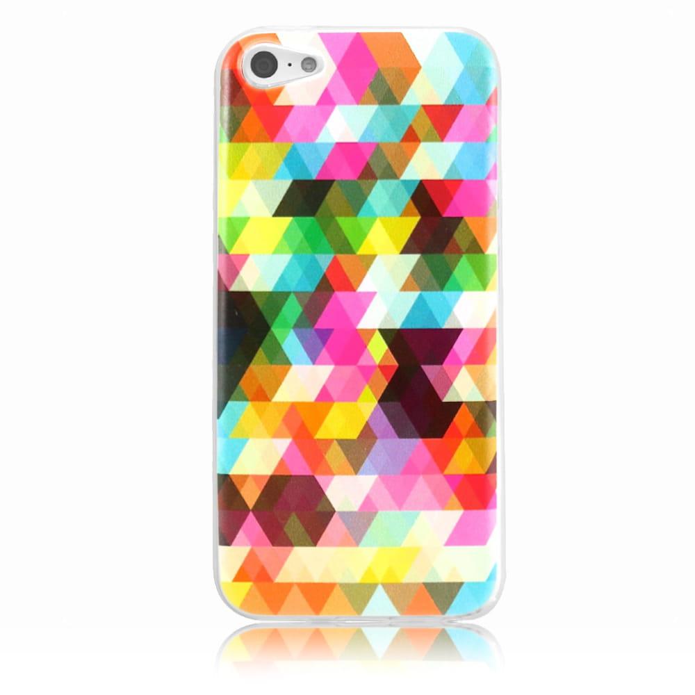Capa iPhone 5c - Abstrata Colorida Personalizada