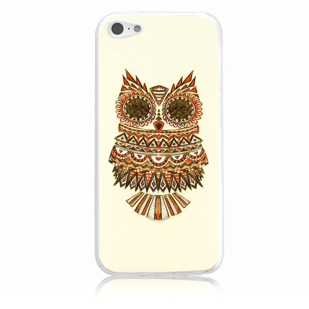 Capa iPhone 5c - Coruja Maori Personalizada