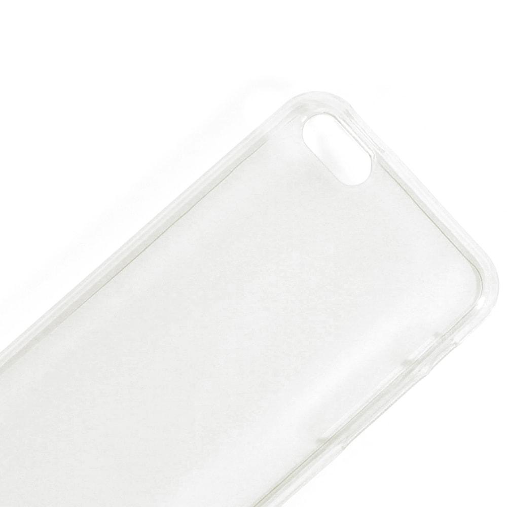 Capa iPhone 5c - Translúcida Silicone TPU - Branca