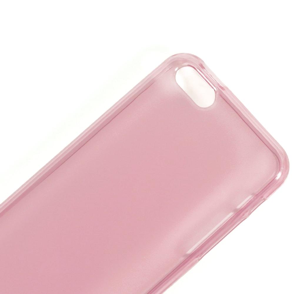 Capa iPhone 5c - Translúcida Silicone TPU - Rosa