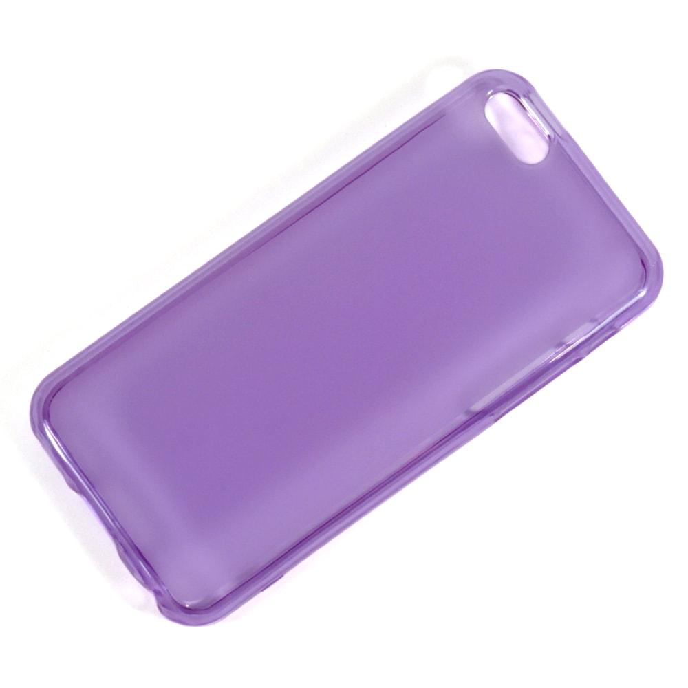 Capa iPhone 5c - Translúcida Silicone TPU - Roxa