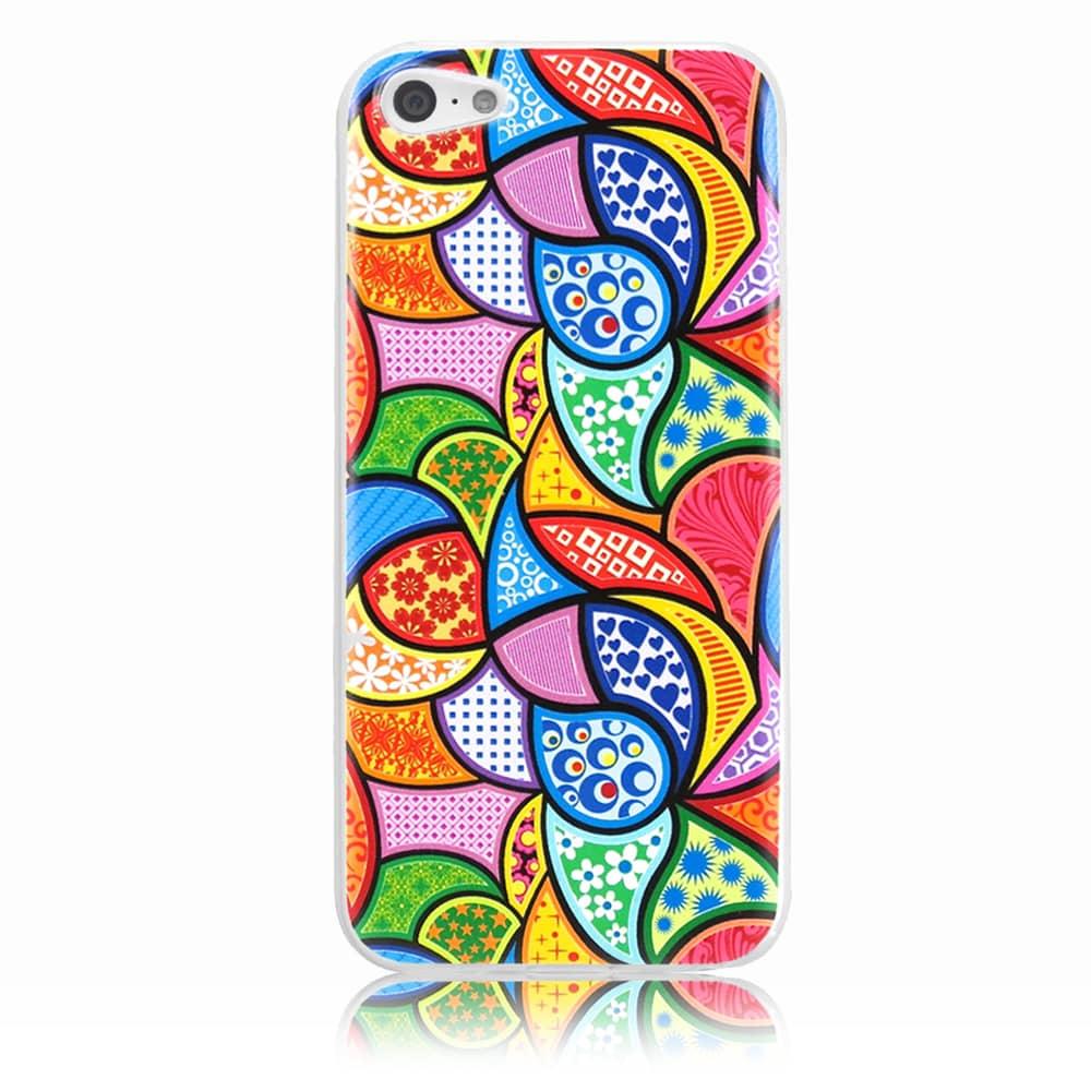 Capa iPhone 5c - Vitral Colorido Personalizada
