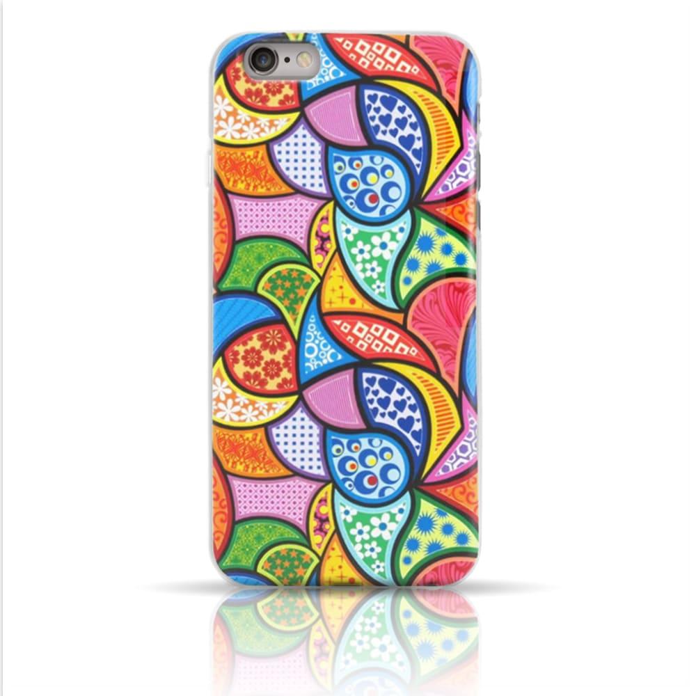Capa iPhone 6s / 6 - Vitral Colorido Personalizada