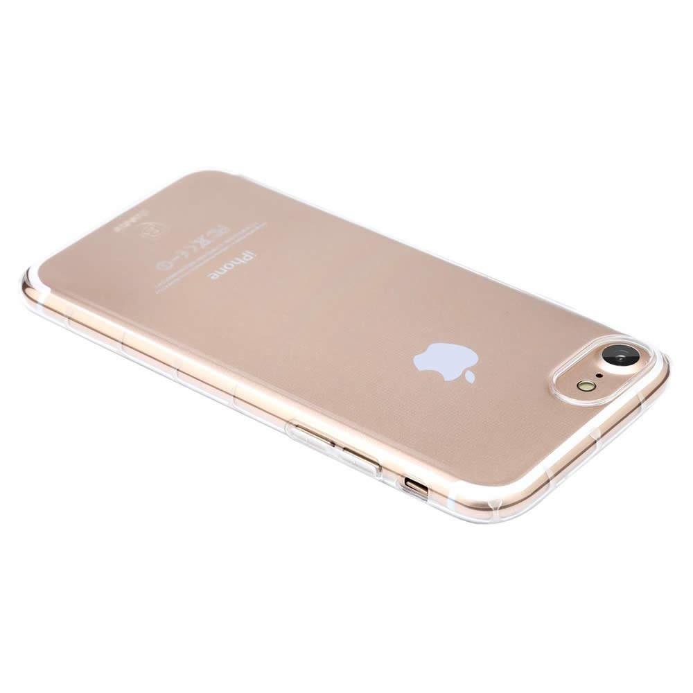 Capa iPhone 8 / 7 - Baseus - Super Slim Anti Shock Silicone Transparente