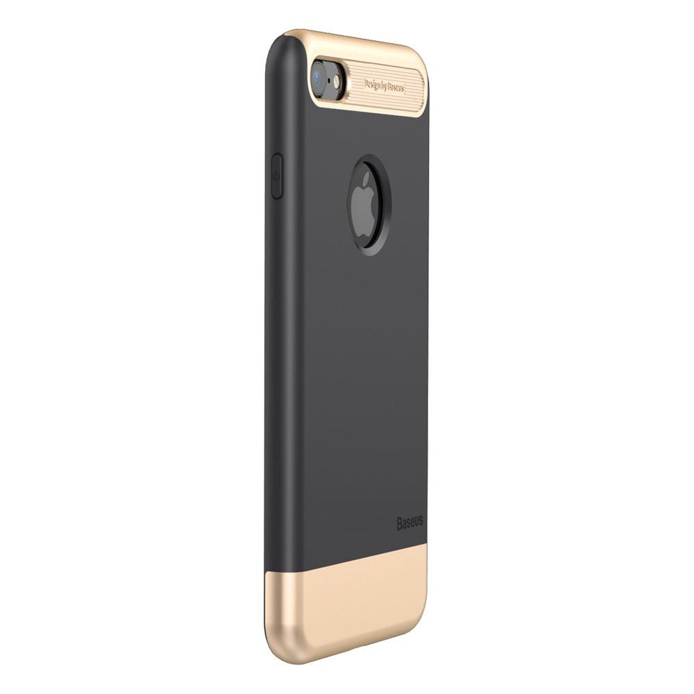 Capa iPhone 7 - Baseus - Taste Case - Preta com Dourado