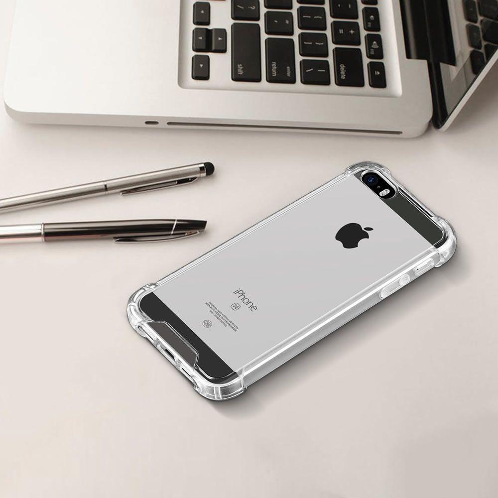 Capa iPhone Se 5s 5 - Transparente - Anti Impacto