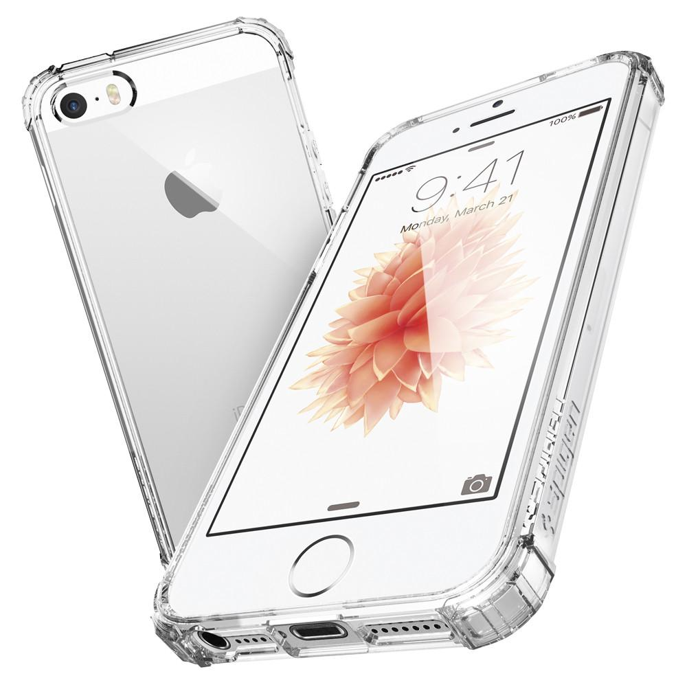 Capa iPhone SE / 5s / 5 - Transparente Crystal Shell - Spigen