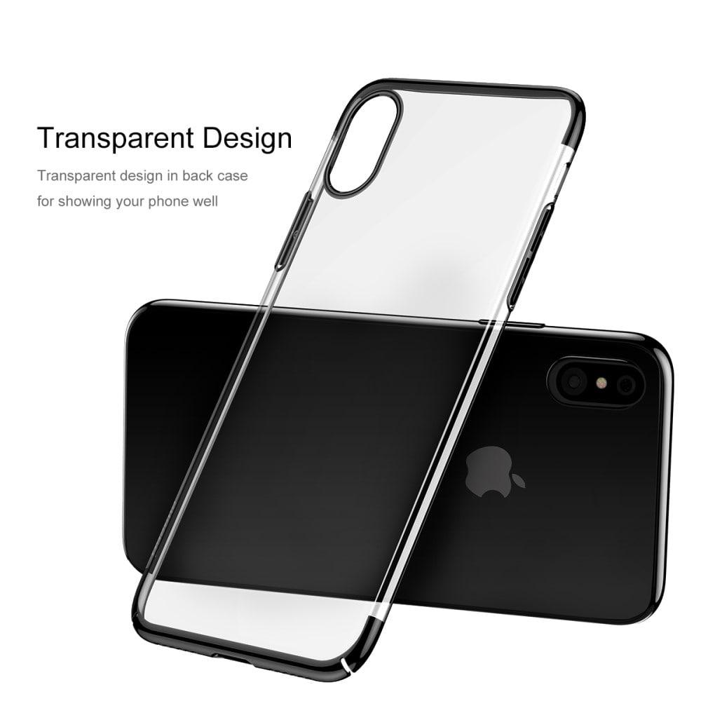 Capa iPhone X Baseus Glitter Case Ultra Slim