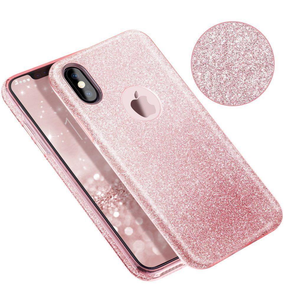 218d00a4218 ... Capa iPhone Xs / X - Glitter Dupla Proteção ...