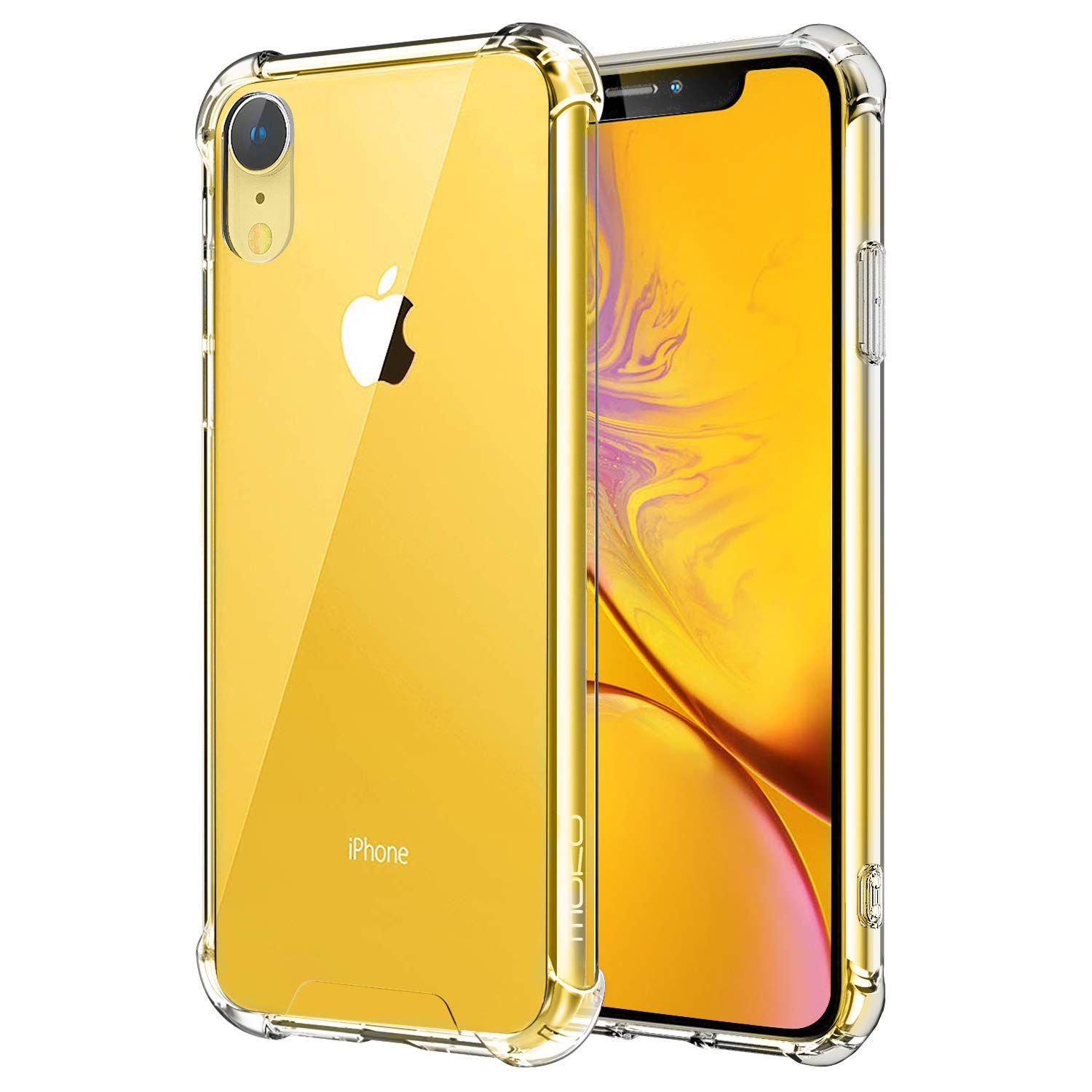 Capa iPhone Xr - Transparente Rígida Anti Impacto