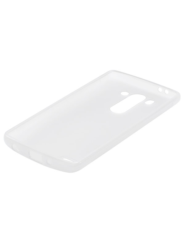 Capa LG G3 Beat / G3 Mini - Branca Flexível TPU Antiderrapante