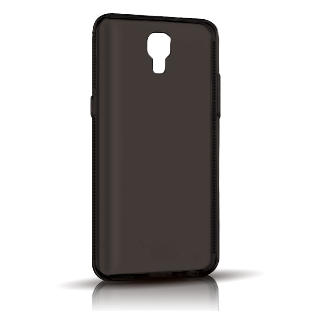 Capa LG X Screen - Fumê Silicone TPU