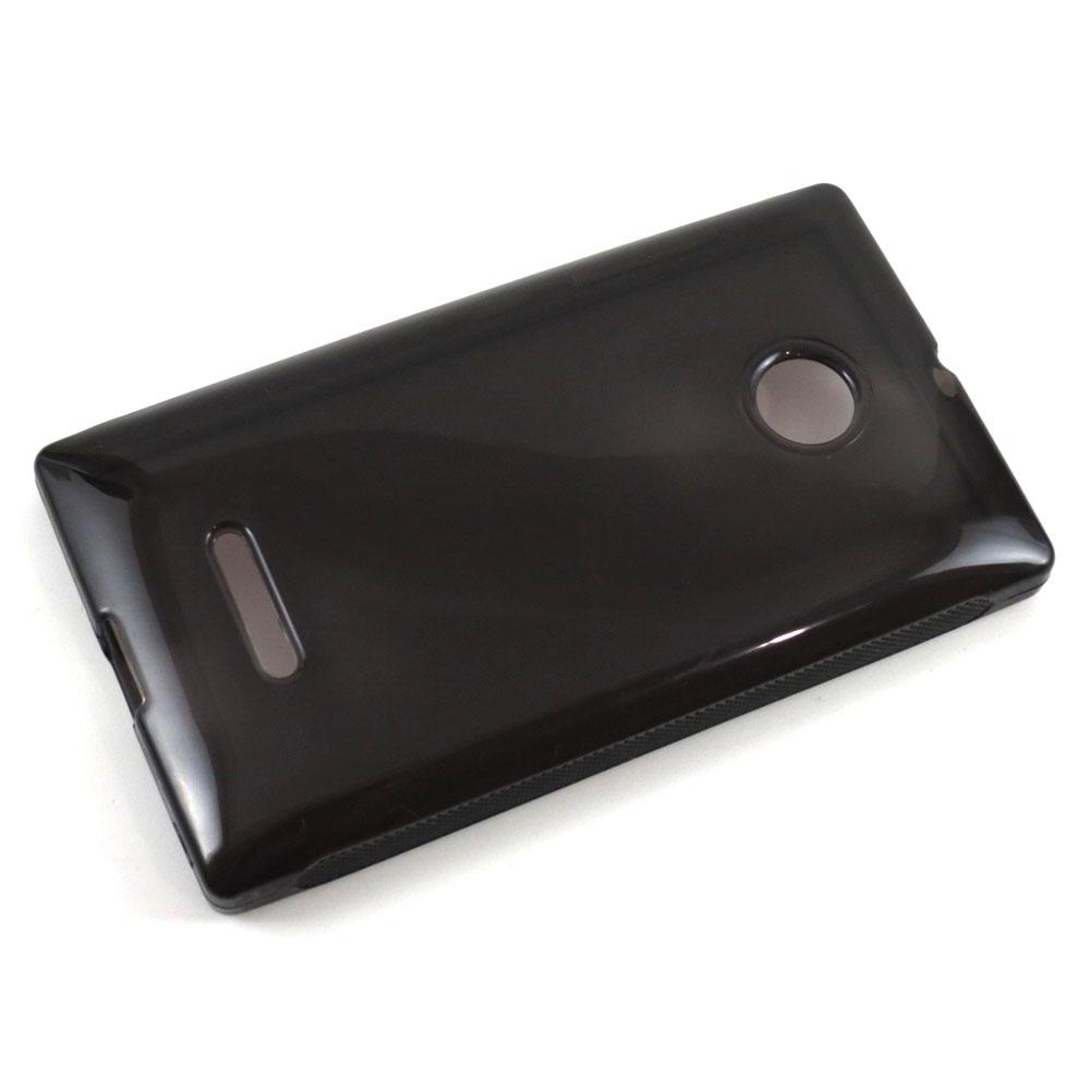 Capa Microsoft Lumia 435 - Fumê Silicone TPU