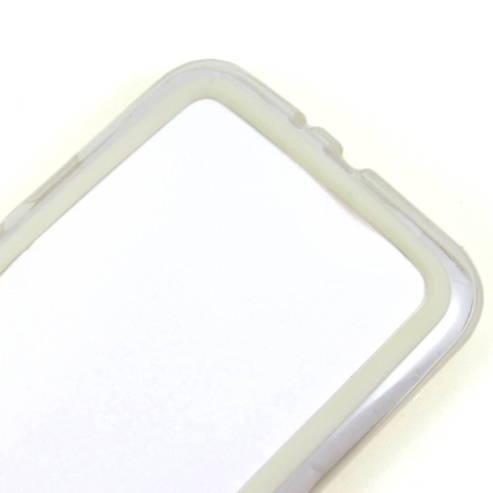 Capa Moto G3 - Bumper - Branca