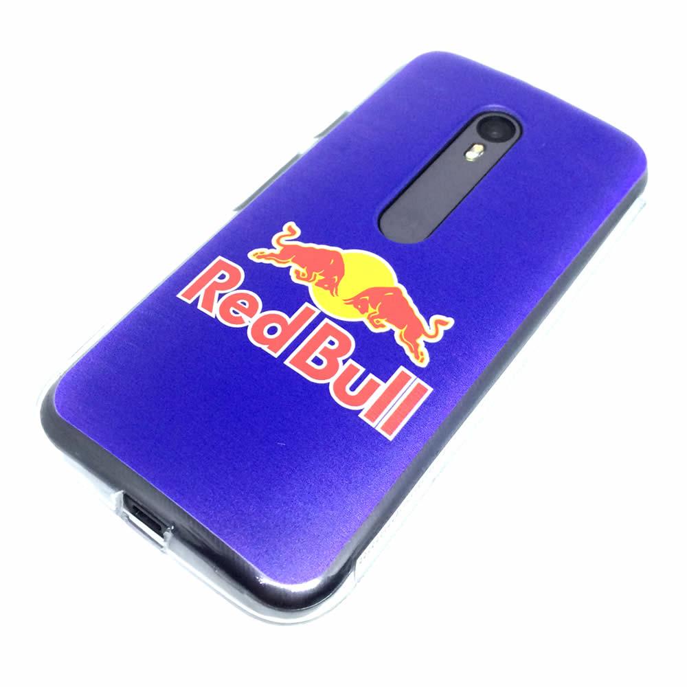 Capa Moto G3  - Red Bull