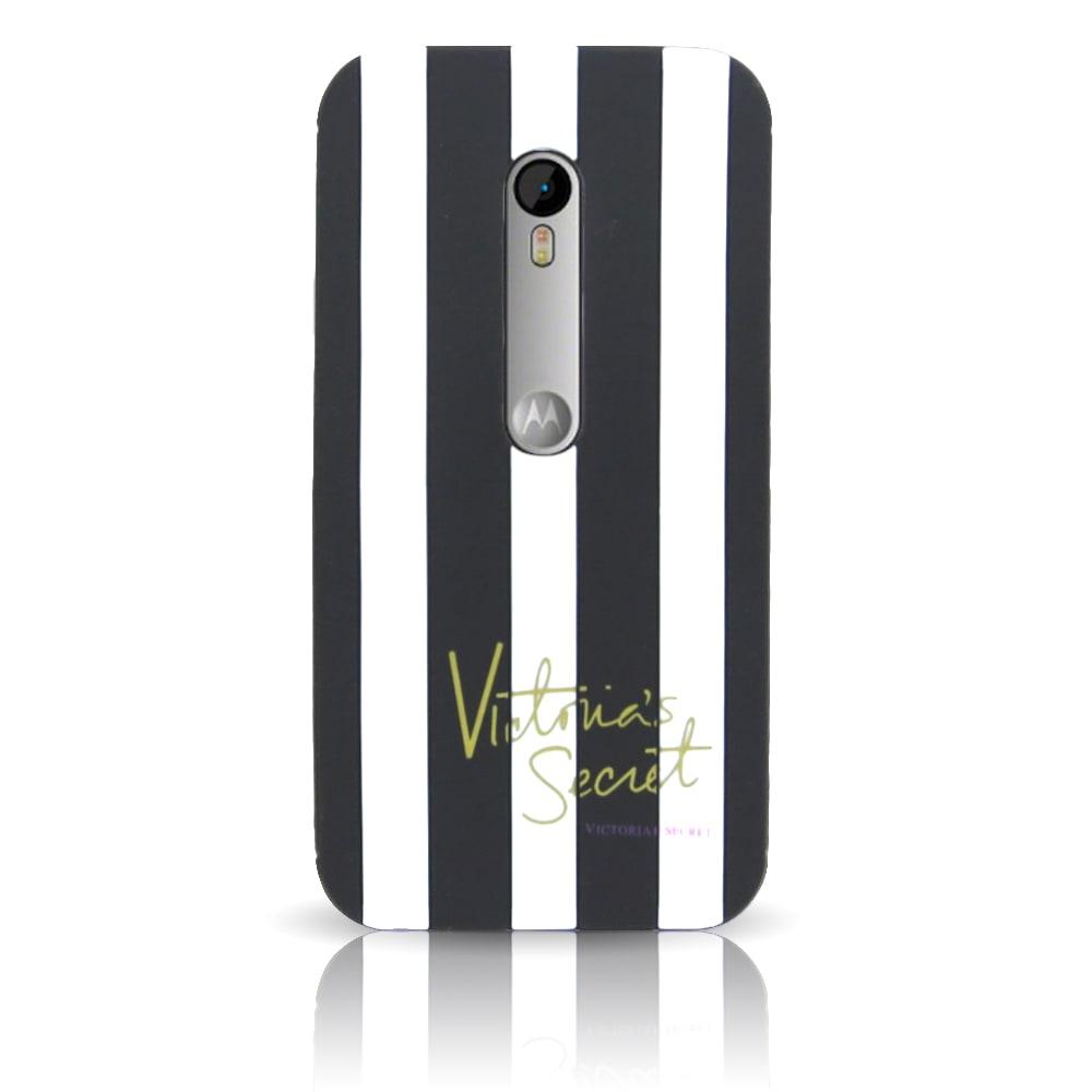 Capa Moto G3 - Victoria Secrets Silicone 3D - Preta