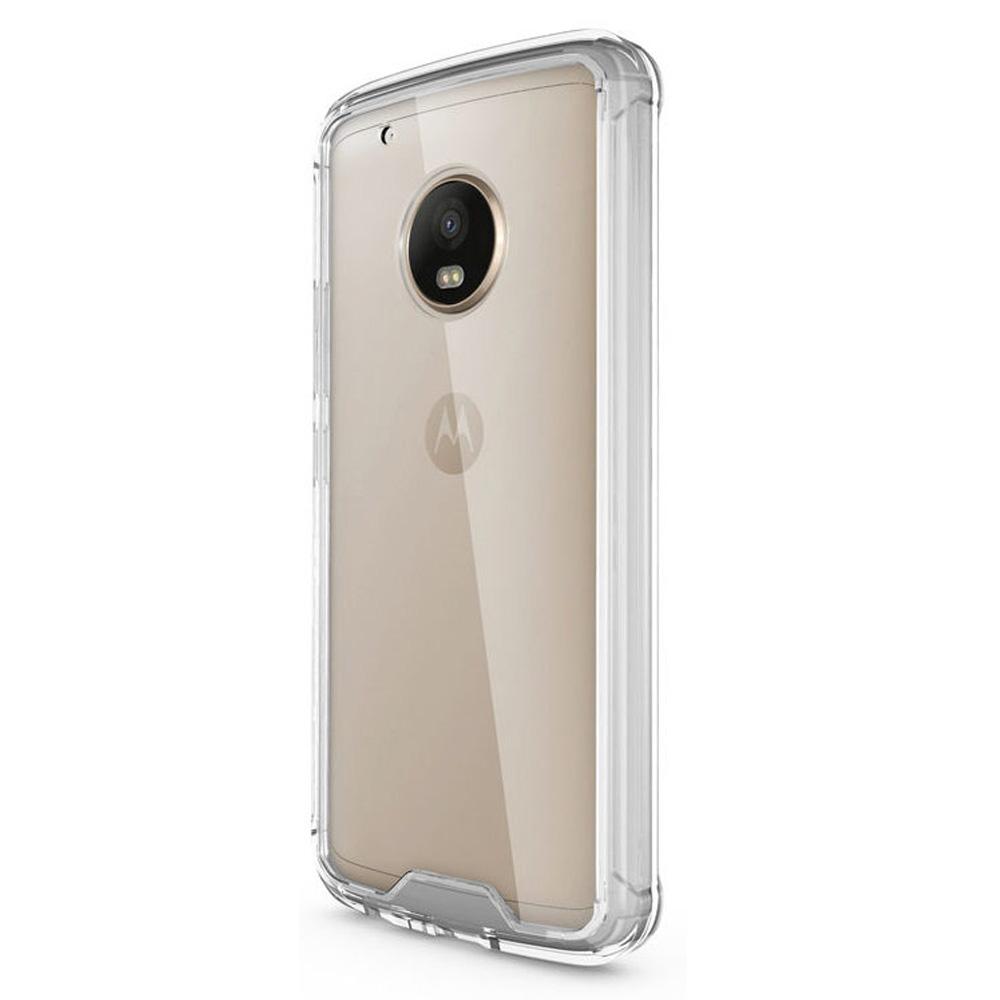 Capa Moto G5 - Transparente Anti Impacto