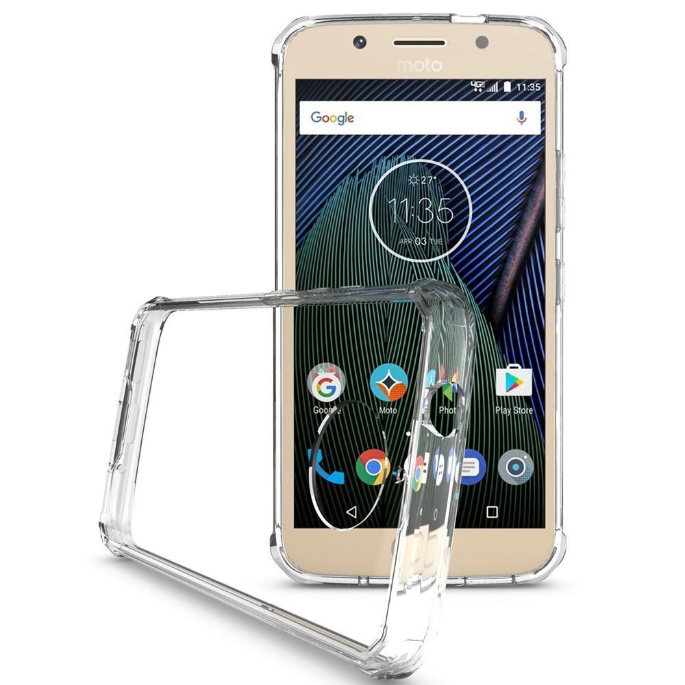 Capa Moto G5s Plus - Transparente - Anti Impacto