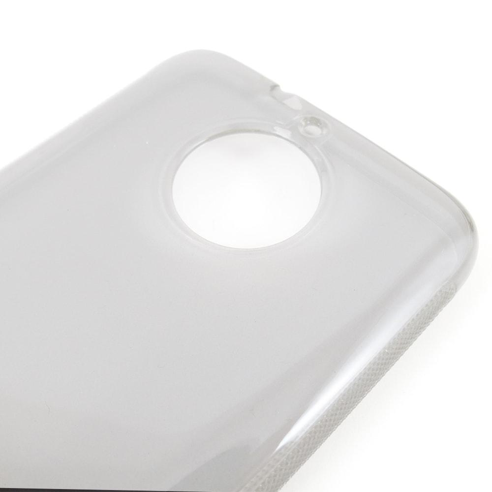 Capa Moto G5s - Transparente Silicone TPU