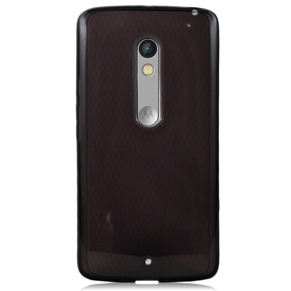 Capa Moto X Play - Fumê Silicone TPU
