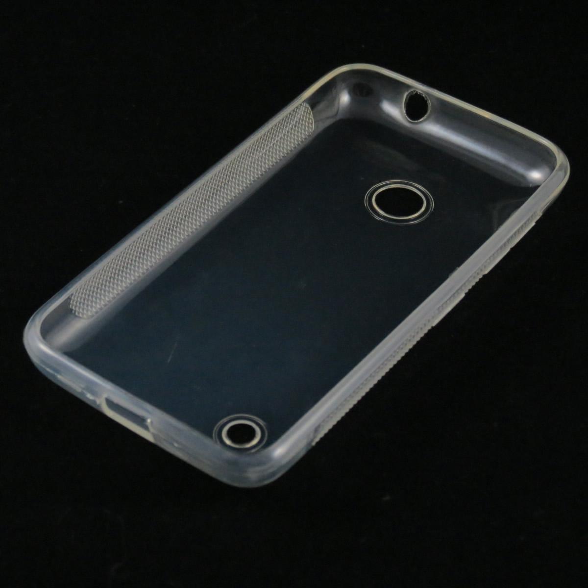 Capa Nokia Lumia 530 - Transparente Silicone TPU