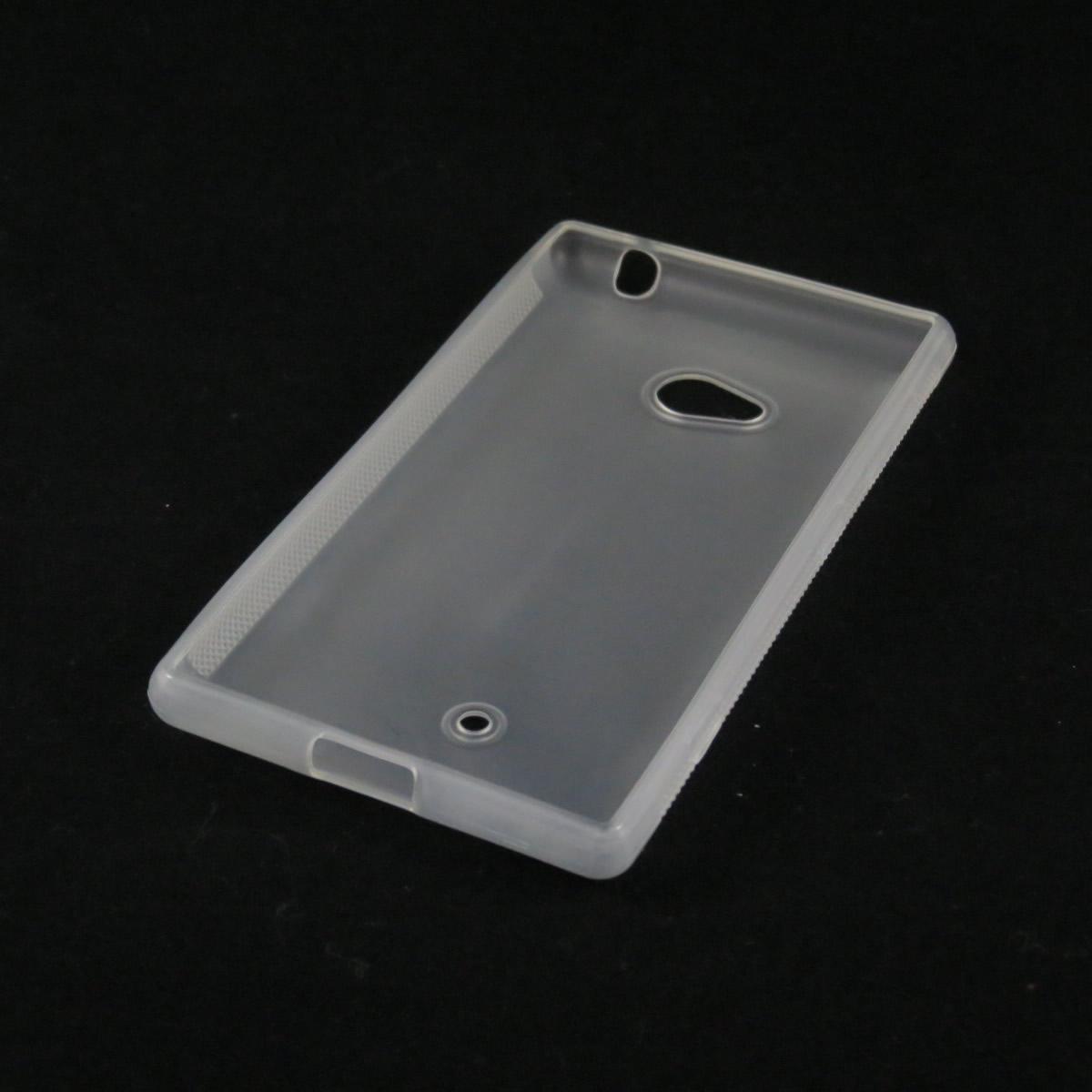 Capa Nokia Lumia 720 - Branca Flexível TPU Antiderrapante
