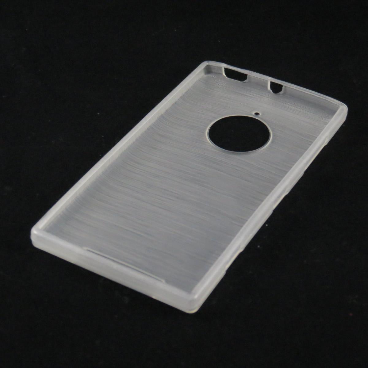 Capa Nokia Lumia 830 - Branca Escovada Flexível TPU
