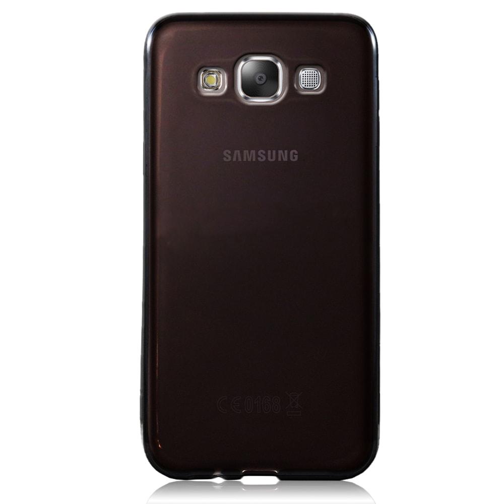 Capa Samsung Galaxy E5 - Fumê Silicone TPU