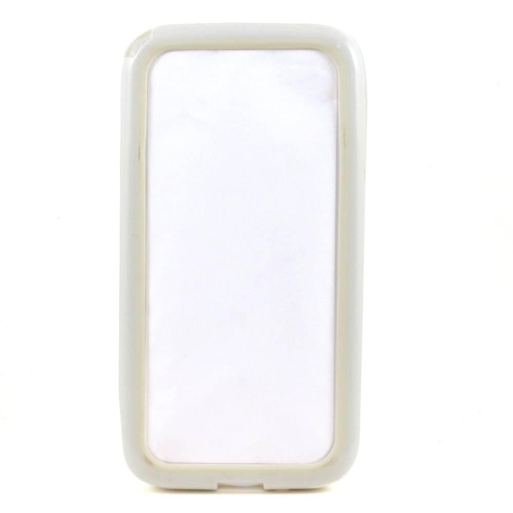 Capa Samsung Galaxy S4 - Bumper - Acrílico e Silicone Branca