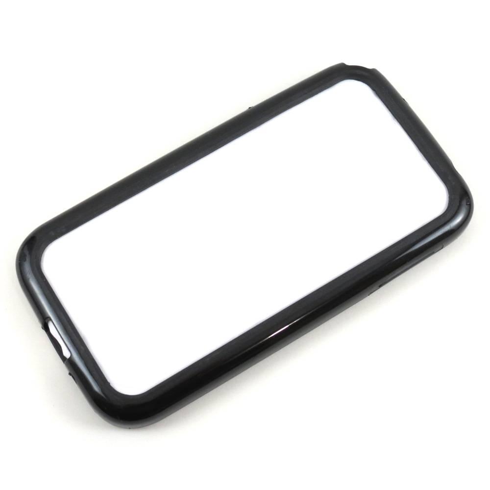 Capa Samsung Galaxy S4 - Bumper - Acrílico e Silicone Preta