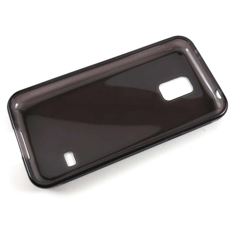 Capa Samsung Galaxy S5 Mini - Fumê Silicone TPU