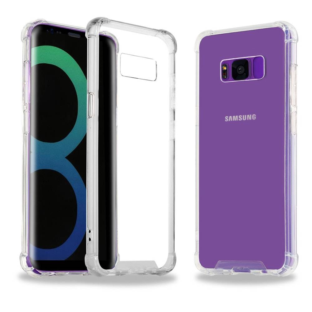 Capa Galaxy S8 - Transparente Anti Impacto