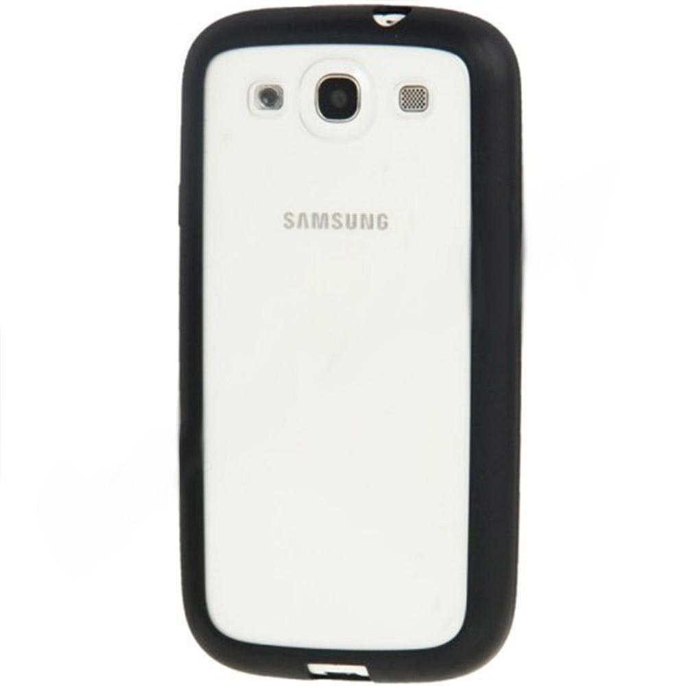 Capa Samsung Win - Bumper - Silicone Preta