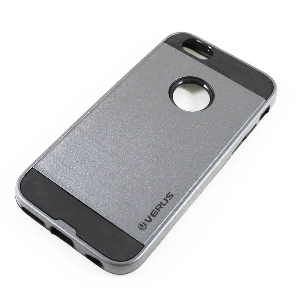 Capa iPhone 6s / 6 Anti Impacto Escovada - Prata