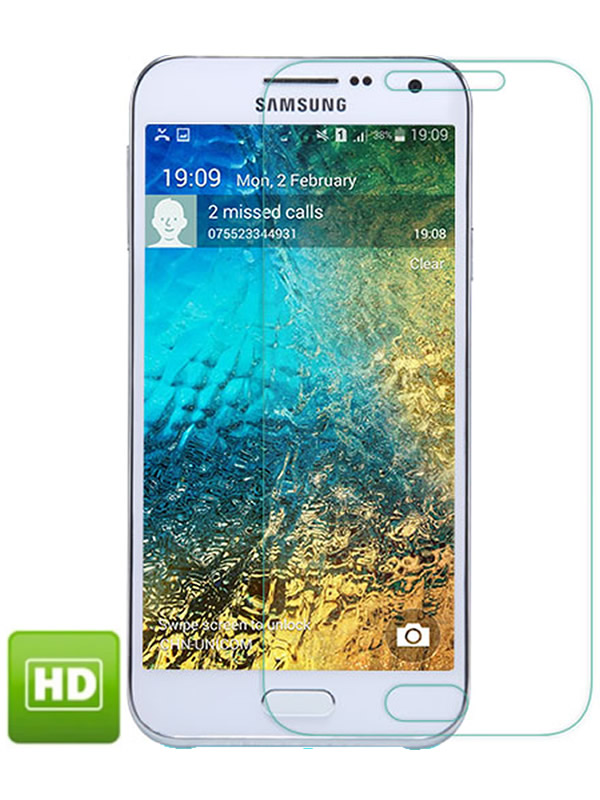 Película Transparente Brilhante - Galaxy E5