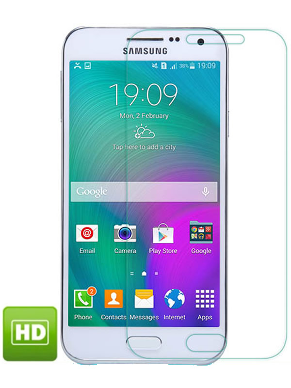 Película Transparente Brilhante - Galaxy E7