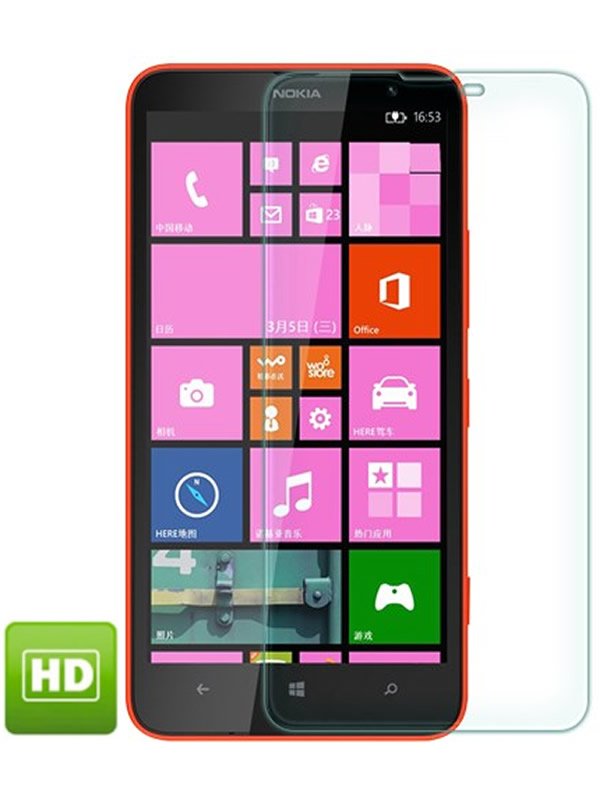 Película Transparente Brilhante - Nokia Lumia 1320