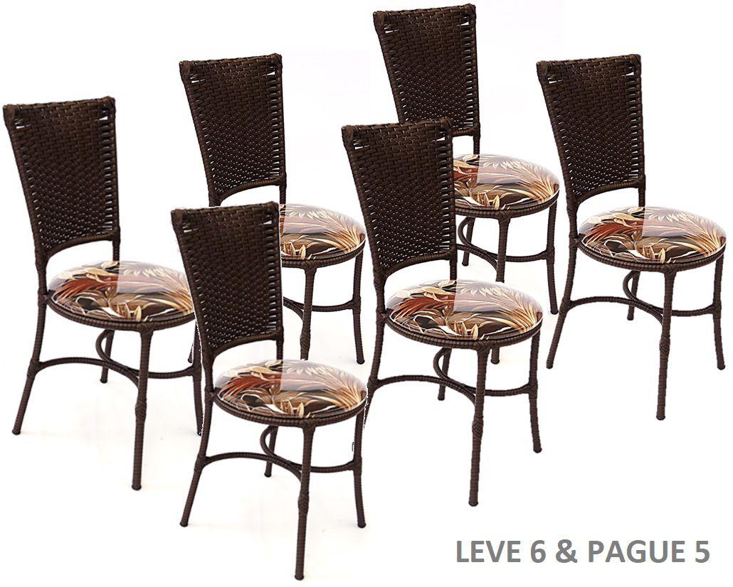 Amigos Tire Shop >> Jogo de Cadeiras Cozinha Jantar Promoção - Leve 6 E Pague ...